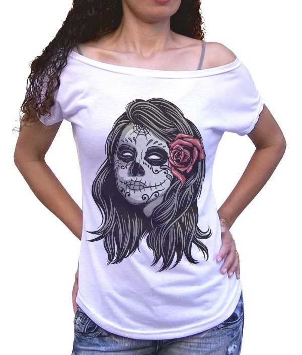 a8b881404 Camiseta Caveira Mexicana - Ostey Clothing