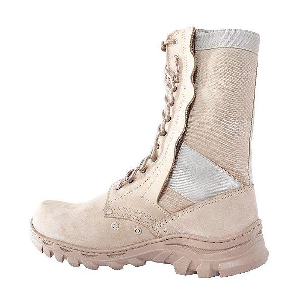 Coturno Militar Montese Zíper ***Entrega em até 10 dias úteis***