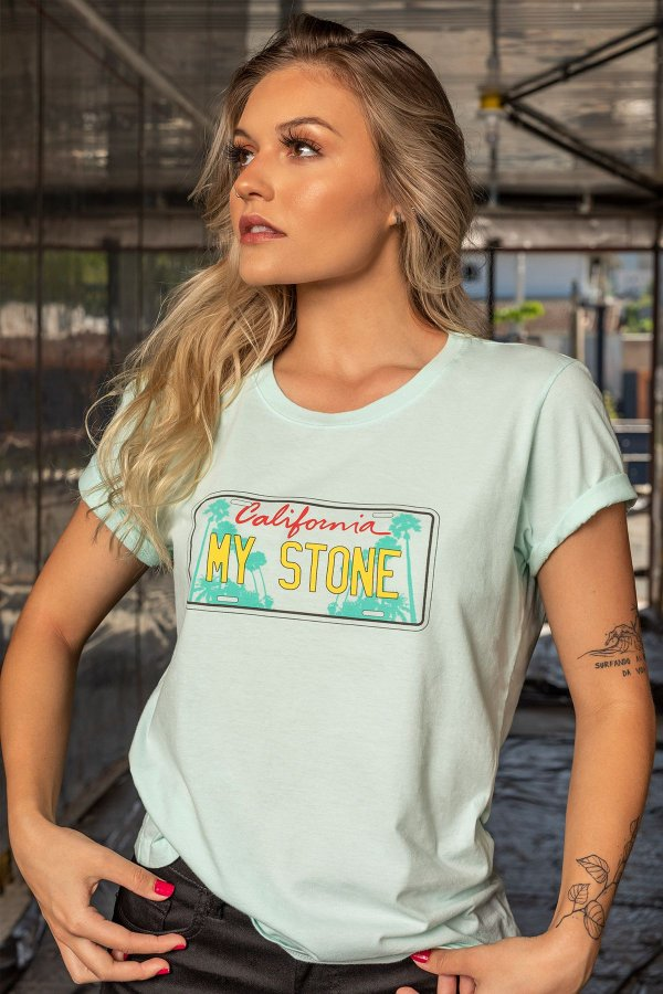 T-SHIRT STONE PLACA MY STONE