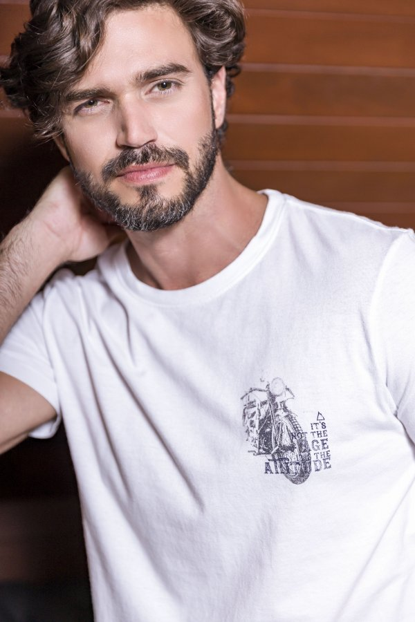 T-SHIRT NOT THE AGE - BRANCO