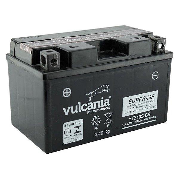 Bateria Vulcania YTZ10S 8.6Ah CBR600 CB1000R MT07 R1 S1000RR