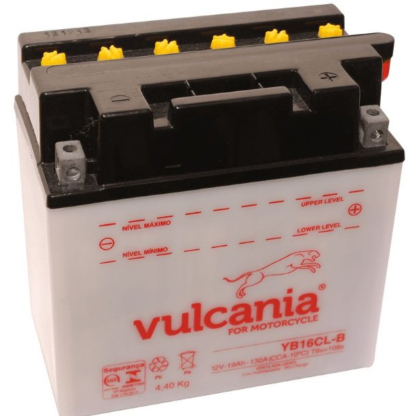 Bateria Vulcania YB16CL-B 19Ah Jet Ski Yamaha VX1100 Sea Doo