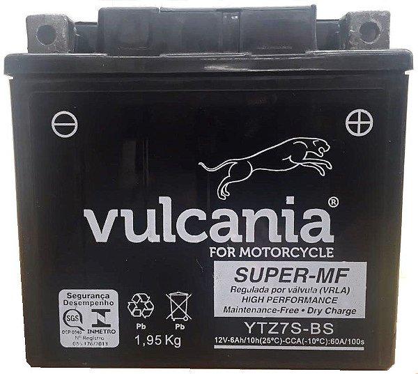 Bateria Vulcania YTZ7S PCX150 XRE300 CBR1000RR WR450F ZX10R