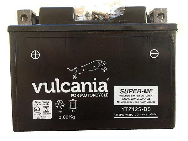 Bateria Vulcania YTZ12S CBR1100 NC700 VT750 TMAX S1000RR XT1200Z Super Tenere