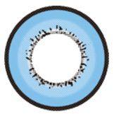 LENTE DE CONTATO AZUL ELEMENT - blue circle lens