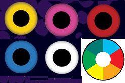 LENTE DE CONTATO QUE BRILHA NA LUZ UV -Glow uv NEON