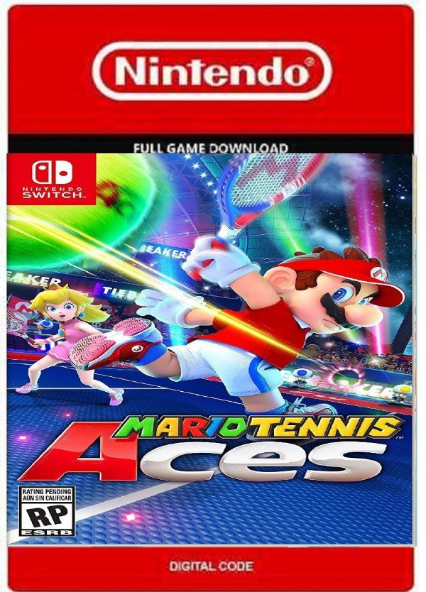 MARIO TENNIS ACES NINTENDO SWITCH DIGITAL CÓDIGO ESHOP