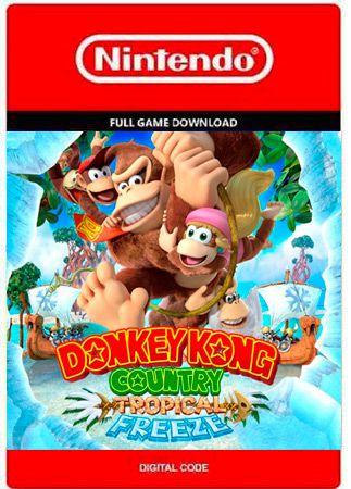 Donkey Kong Country Nintendo Switch Código Digital