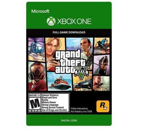 Grand Theft Auto V Xbox One Código Digital