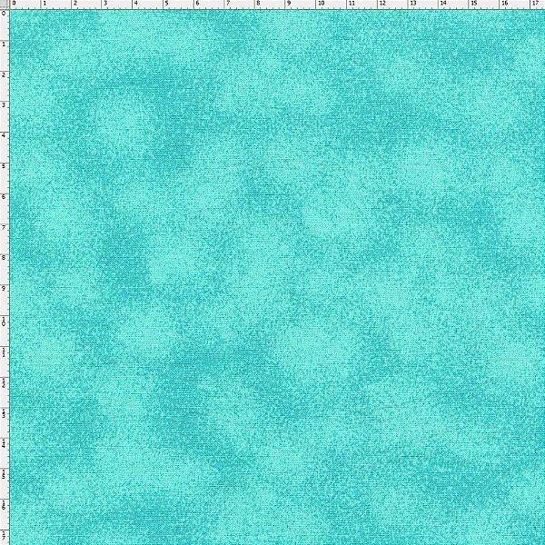Tecido Círculo Poeirinha AZUL TIFSANY - 1902 - 0,50cmx1,46 Mts