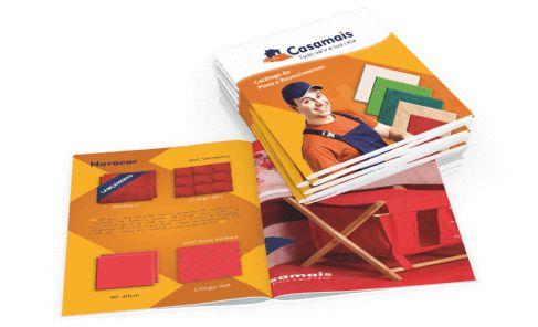 Catálogos e Revistas 20x15cm 8 páginas