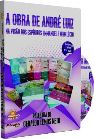 A Obra de André Luiz Na Visão dos Espíritos Emmanuel e Neio Lúcio - Geraldo Lemos Neto