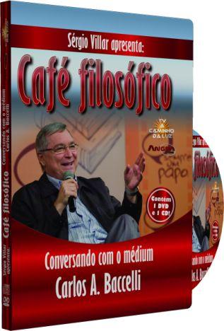 Café filosófico Conversando com o Médium Carlos A. Baccelli
