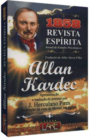 1858 Revista Espírita Jornal de Estudos Psicológicos - Allan Kardec - Tradução de Júlio Abreu Filho