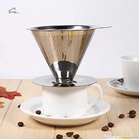 Filtro de Café Em Aço Inox