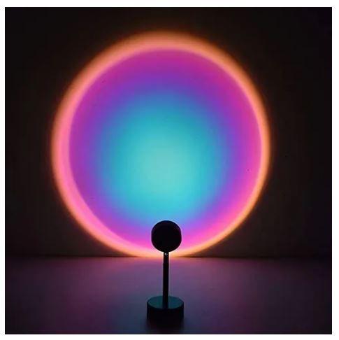Luminária Projetora arco-íris
