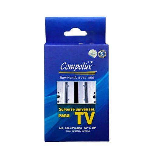 Suporte Tv Universal 10'' A 70'' 100 kg Compolux 001
