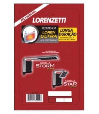 Resistência Lorenzetti Acqua Storm/Star, 5500 watts