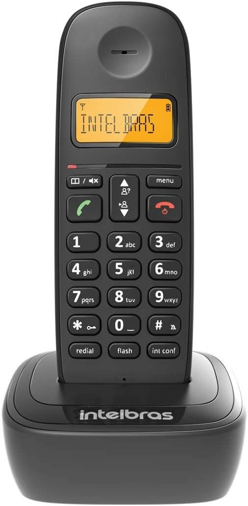 TELEFONE SEM FIO COM IDENTIFICADOR TS2510 ID PRETO
