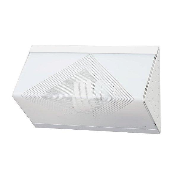 Arandela em Acrílico para 1 Lâmpada Córdoba Branca