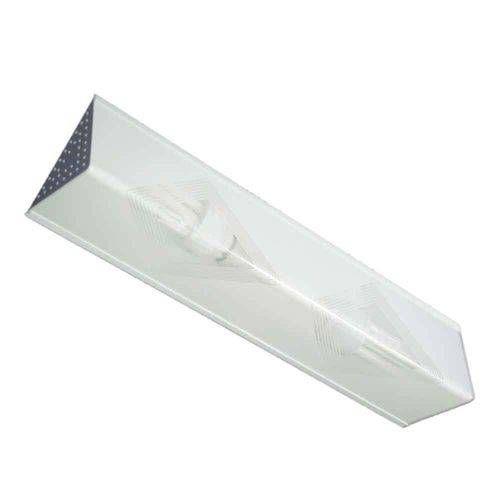 Arandela Cordoba Para 2 Lâmpadas E27 50x13cm Listrado Branco