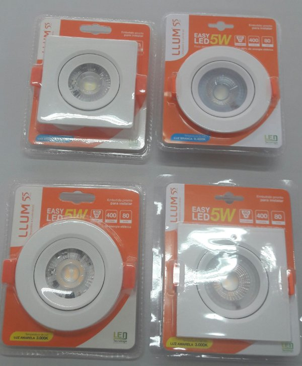 SPOT EMB RED EASYLED 5W