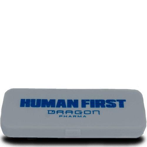 PORTA CÁPSULAS RX DAILY PILL BOX - Dragon Pharma   14 compartimentos