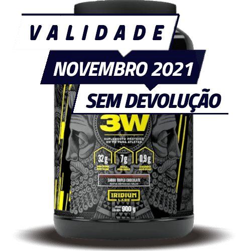 WHEY 3W - Iridium Labs   900 gramas - PONTA DE ESTOQUE