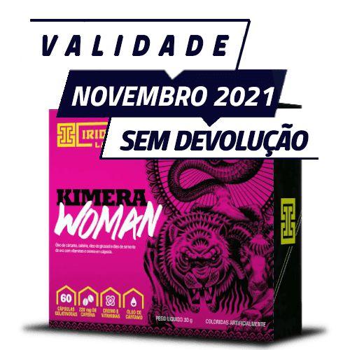 KIMERA WOMAN - Iridium Labs   60 cápsulas - PONTA DE ESTOQUE