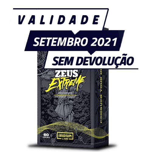 ZEUS EXTREME - Iridium labs | 60 cápsulas - PONTA DE ESTOQUE