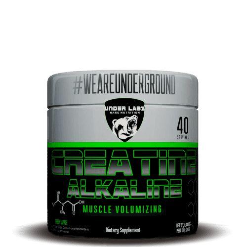CREATINE ALKALINE - Under Labz | 200 gramas