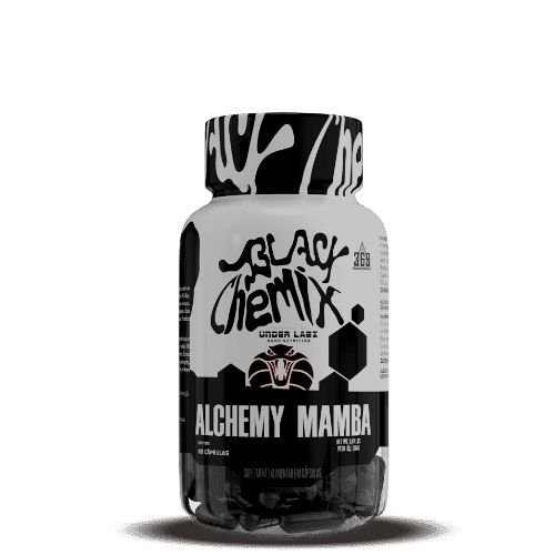 ALCHEMY MAMBA - Black Chemix by Under Labz   60 cápsulas