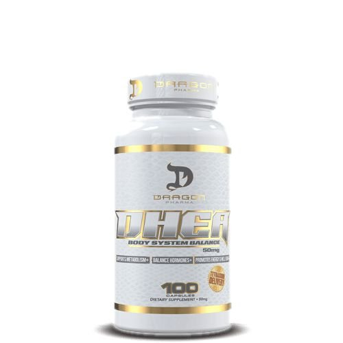 DHEA 50mg - Dragon Pharma | 100 cápsulas