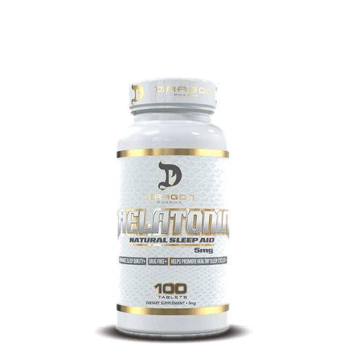 MELATONINA 5mg - Dragon Pharma | 100 cápsulas