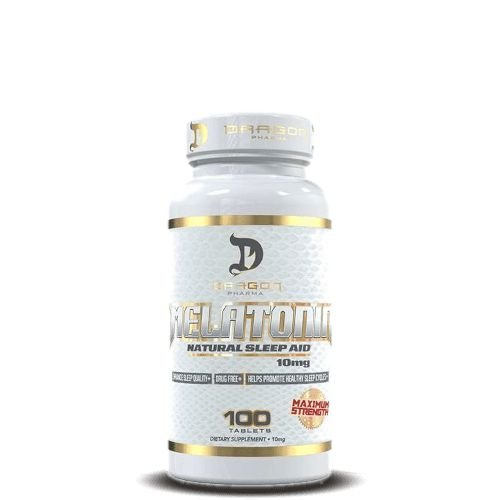 MELATONINA 10mg - Dragon Pharma   100 cápsulas