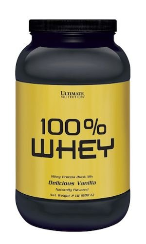 100% WHEY - Ultimate Nutrition | 908 gramas
