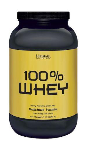 100% WHEY - Ultimate Nutrition | 908 gramas