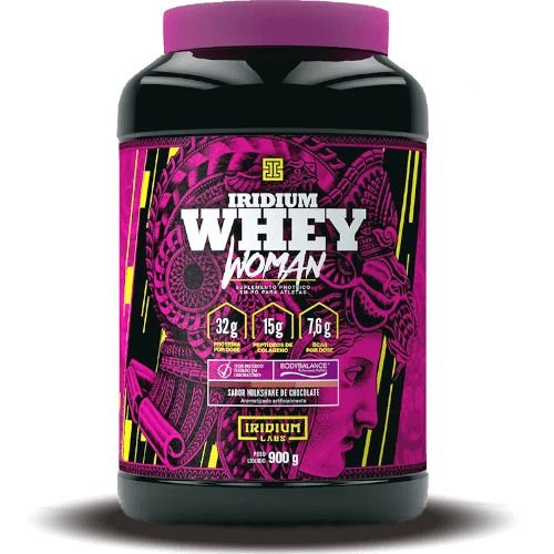 WHEY WOMAN - Iridium Labs | 900 gramas