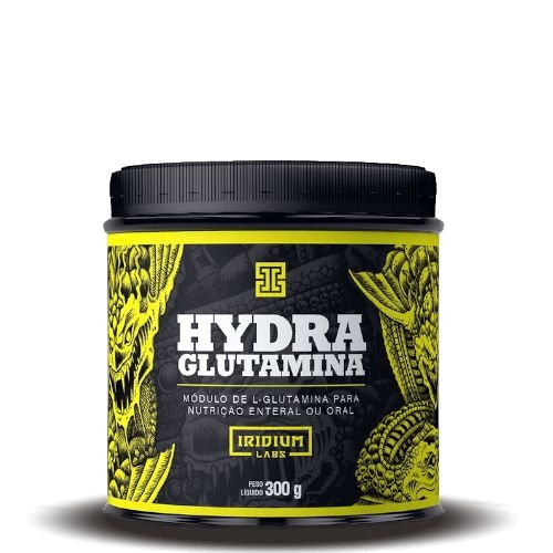 HYDRA GLUTAMINA - Iridium Labs | 300 gramas