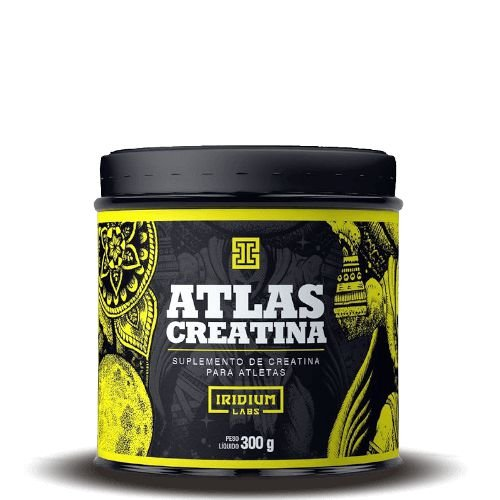 ATLAS CREATINA - Iridium Labs   300 gramas