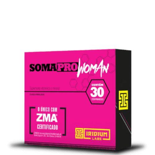 SOMA PRO WOMAN ZMA - Iridium labs | 30 comprimidos