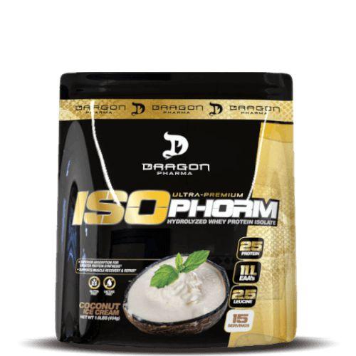 ISOPHORM WHEY - Dragon Pharma   454 gramas