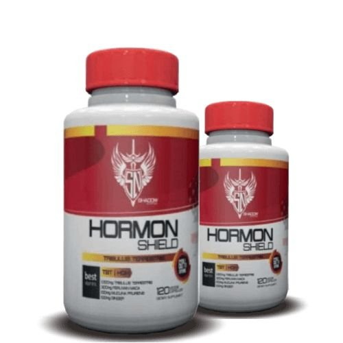 KIT 2 TRIBULUS TERRESTRIS HORMON SHIELD 1500mg - Shadow Nutrition | 2x 120 cápsulas