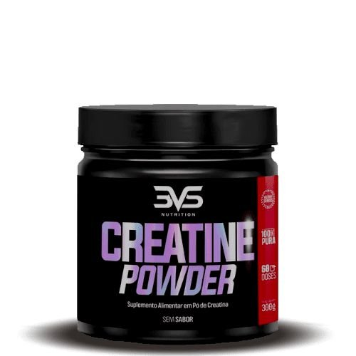 CREATINE POWDER - 3VS Nutrition | 300 gramas
