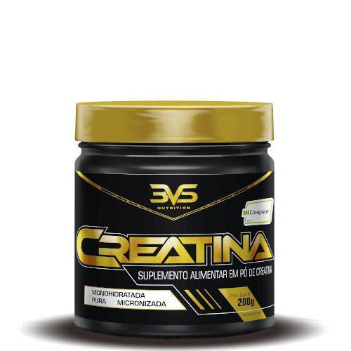CREATINA CREAPURE - 3VS Nutrition | 200 gramas