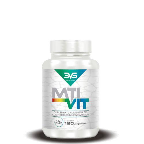 MTI VIT MULTIVITAMÍNICO - 3VS Nutrition | 120 cápsulas