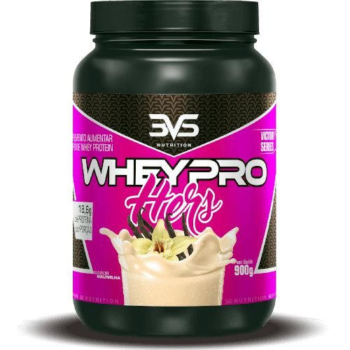 WHEY PROTEIN PRO HERS - 3VS Nutrition | 900 gramas