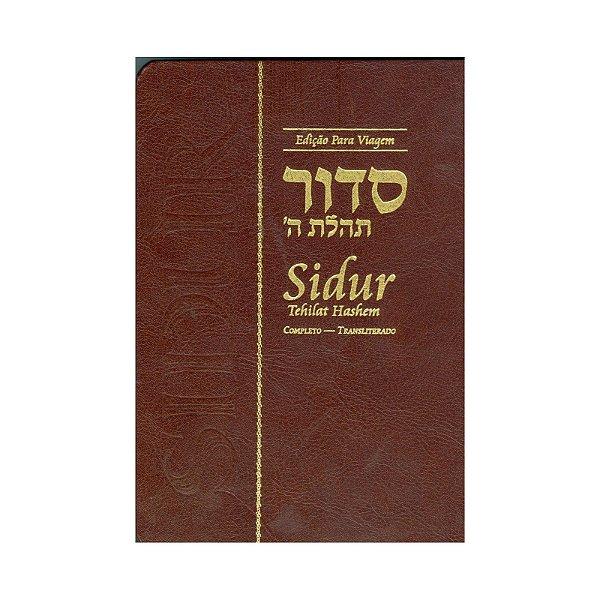 Sidur Tehilat Hashem: completo.  Para viagem