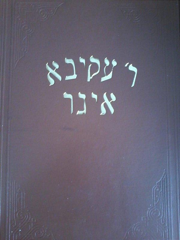 Teshuvot Rabi Akiva Eiger 2 vol