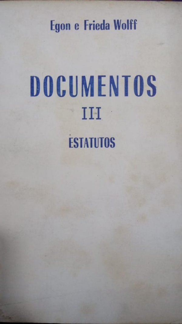 Documentos III Estatutos